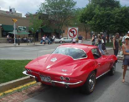 A Stingray.  I guess this one did not make it to the Northern Colorado Corvette car show going simultaneously a few miles away.