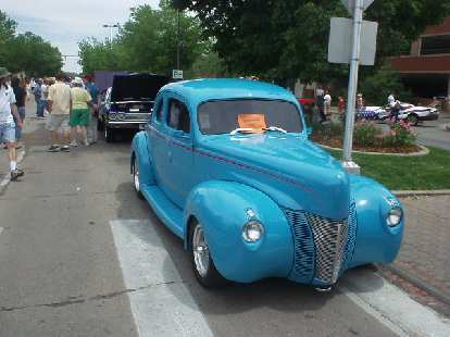 Nice hot rod based off of a Ford Tudor.