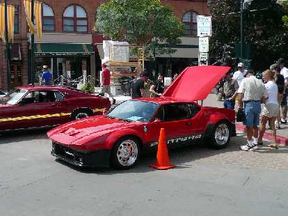 A 1970s Ford-powered Pantera.