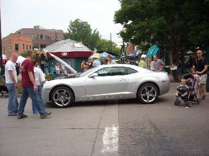 The new 2010 Camaro.