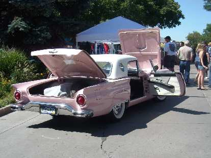 Mid-1950s Ford Thunderbird.