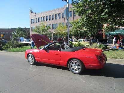Ford Thunderbird, circa 2004.