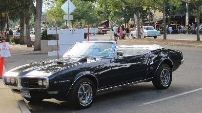 Pontiac Firebird convertible.
