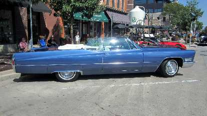 Can you believe the overhangs and overall length of this two-door Cadillac Coupe de Ville?