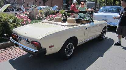 Fiat Spider, a regular at this show.