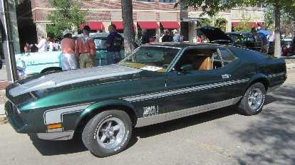 1971 (I think) Mustang Mach I.
