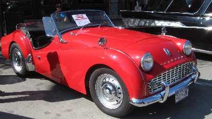 Triumph TR3.