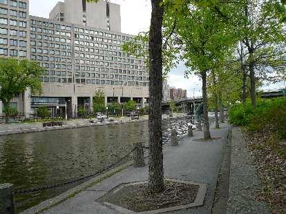 A modern building in Ottawa.