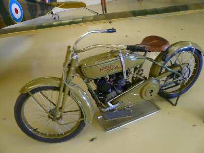 The 1919 Harley-Davidson Model J.
