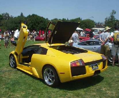 Lamborghini Murcielago.