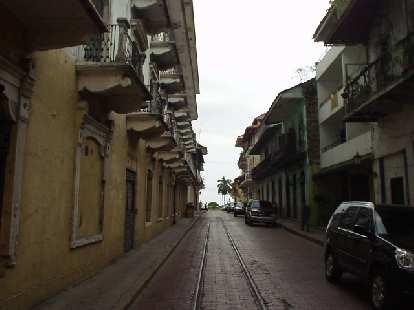 Alley in San Felipe.