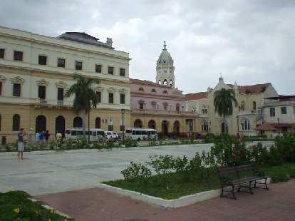 Courtyard in San Felipe.