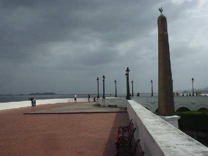 Pier in San Felipe.
