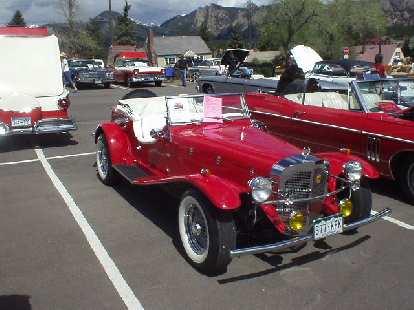 A Mercedes replica.