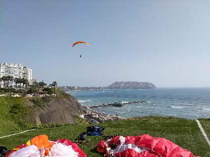 Thumbnail for Paragliding in Lima, Peru