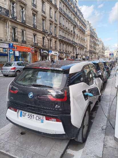 BMW i3 in Paris