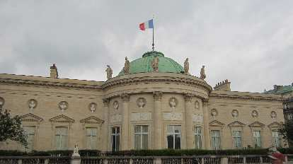 National Museum of the Legion of Honor & Orders of Chilvary next to le Mus̩e d'Orsay.
