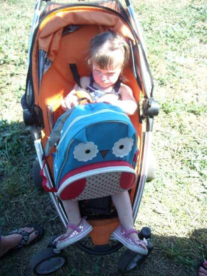 Nice backpack, Zoe!