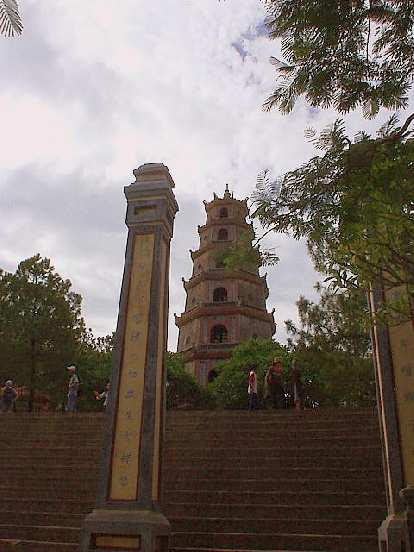 The Thien Mu Pagoda was a hotbed of anti-government protests in the 1960s.