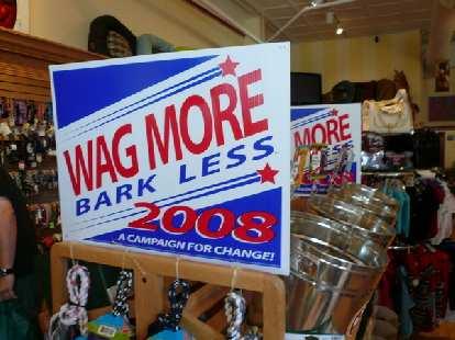 Wag more, bark less!