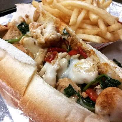 Philly Chicken Cheesesteak at Shkabibble's II.