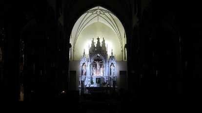 Inside the 24 Hour Chapel on Grandview Avenue.