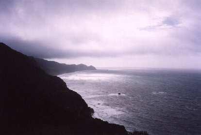 Mystical pic of the Pacific coastline.