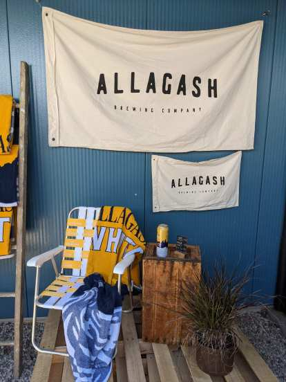 banners for Allagash Brewing Company