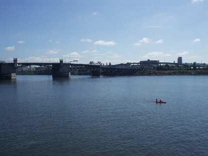 The Willamette river.