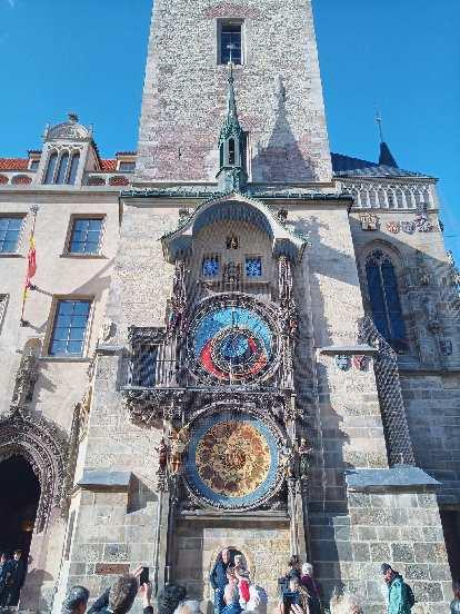 Pražský Orloj (Prague astronomical clock).