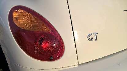 rear taillight, GT emblem, Cool Vanilla 2005 Chrysler PT Cruiser GT