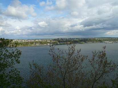 The Saint Lawrence River.