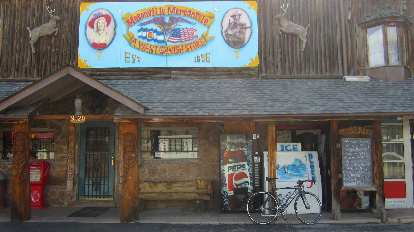 [Mile 31.5] At the Masonville Mercantile, established 1896. This was an information checkpoint.