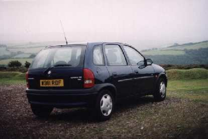Despite being kind of ugly, I liked this Vauxhall Corsa in England since it had a stick and got almost 50-mpg from its 1.2-liter 4-cylinder engine.
