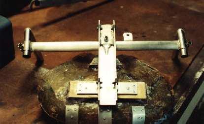 steering assembly, Reynolds Wishbone recumbent