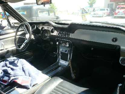 I see where the 2010 Ford Mustang got its inspiration for the interior now -- it looks just like this!