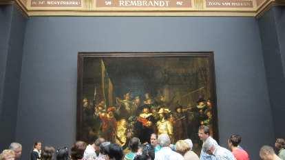 """Rembrandt's """"Night Watch."""""""