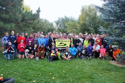 There were 112 runners who participated in this Tortoise & Hare race, a new record for the T&H series.