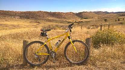 yellow 1996 Cannondale F700