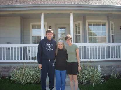 My neighbors Tim and Dee with Sarah.