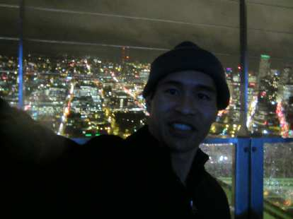 Me, up in the Space Needle.