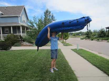 Thumbnail for Kayak Sailing at Richards Lake