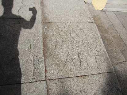"""""""Create more art!"""""""