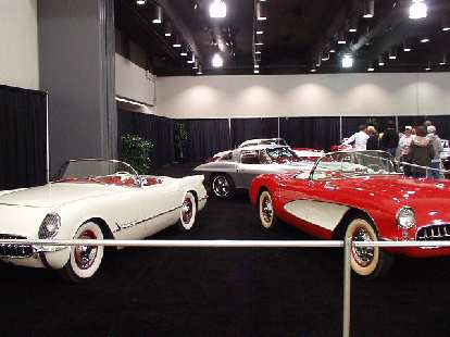 Some of my favorite Corvettes at the show... these from the 1950s.