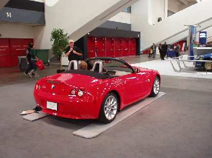 I liked the Solstice even more than this BMW Z4.  Then again, I still don't think the Z4 is nearly as good-looking as my former 2000 Z3!
