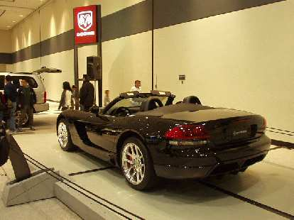 The 2nd generation Dodge Viper: it's more attractive to my eye than the first generation, but looks slightly less masculine and imposing.