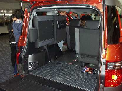 I couldn't help but think this Honda Element would be great for triathlons with all of its carrying capacity.