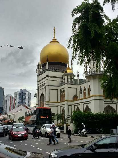 Masjid Sultan in Singapore.