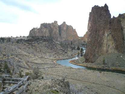The Crooked River through Smith Rock.