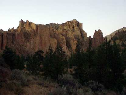Another section of Smith Rock.  There is so much rock that one could probably spend a year here and not do all of the routes!
